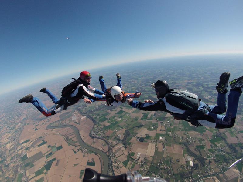 Baptême Parachute individuel