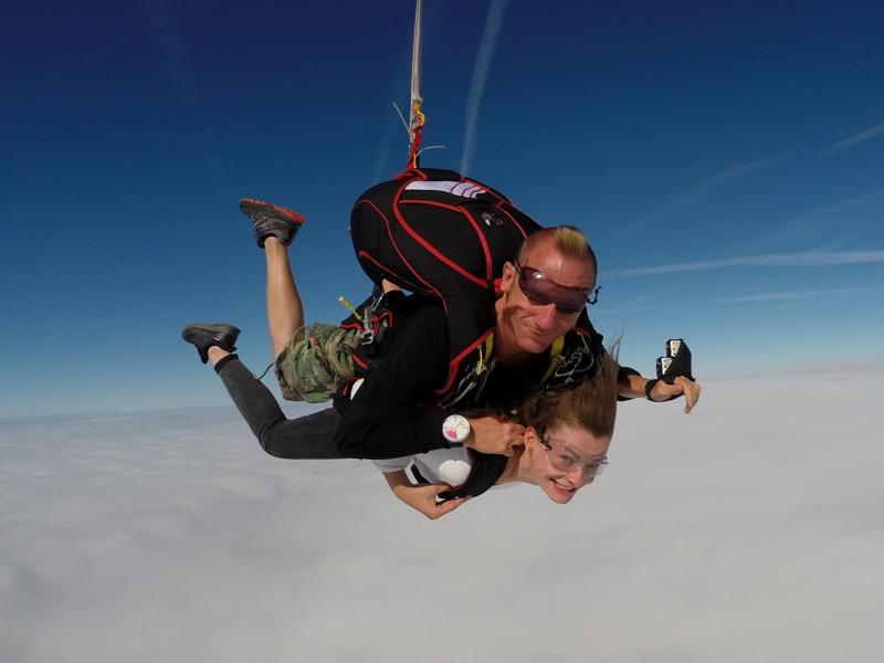 Saut en parachute Prix Tandem