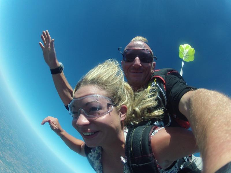 Skydiving Parachute Tandem Skydive Paris