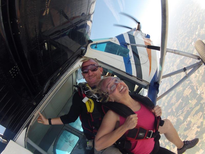 Baptême Parachute